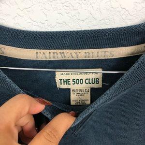 Sweaters - 500 Club Blue Vintage Sweater